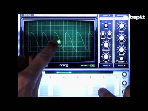 Moog Animoog iPad / iOS Sound Design Tutorial Pt 1: How to Get Started