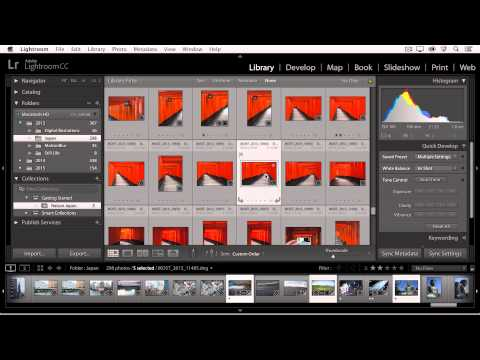 Lightroom CC - Creating Custom Collections of Images