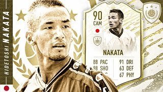 HIDDEN CLUTCH GENE?! 90 MOMENTS NAKATA REVIEW!! FIFA 20 Ultimate Team