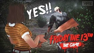 Friday the 13th: The Game - I FINALLY GOT HIM!! (Beta)