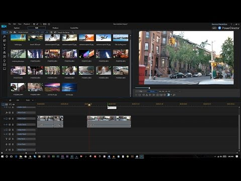 Budget Video Editing Software Cyberlink Power Director 15 Review