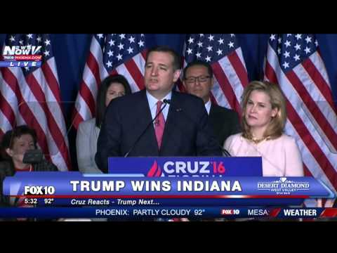 FNN: Ted Cruz Drops Out FULL