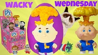 Wacky Garbage Pail Kids Mystery Mini Wednesday! Blind Boxes! Wacky Packages!