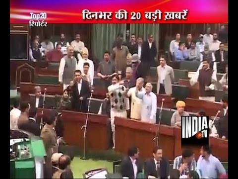 Major ruckus in Jammu and Kashmir assembly