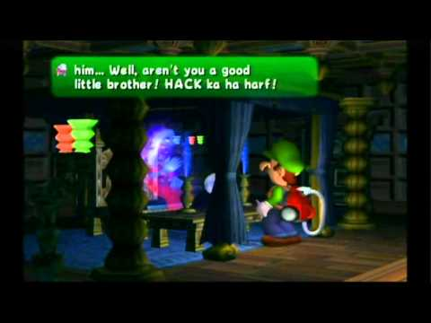 Luigi's Mansion Review (Gamecube / Wii)