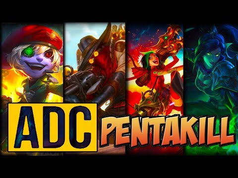 ADC Pentakill Montage - Best ADC Plays Compilation | League Of Legends Mid