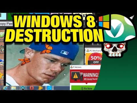 [Vinesauce] Joel - Windows 8 Destruction