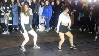 팝송커버 2인안무 (Kaiser 카이저) 홍대버스킹 20170310금 [Korean Hongdae Kpop Dance Street Busking]