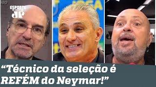 """""""Não adianta... O Tite é REFÉM do Neymar!"""" Veja DEBATE sobre convocação da Seleção!"""