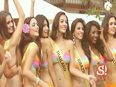 Miss Grand International 2014 สวยไม่ยอมใคร โชว์ชุดว่ายน้ำ บิกินี