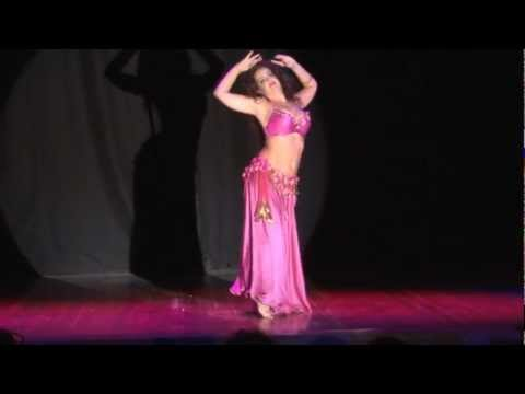 Tamar Bar - Gil-belly Dance Festival habibi Ya Eini 3, 2012 video