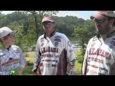 Alabama College Fishing Interview: Wackem College Open