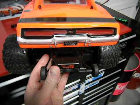 Traxxas Stampede Body Dodge Charger 4x4 Custom Hpi Proline