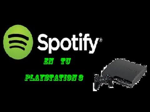 spotify en tu playstation 3 con mes de prueba gratis
