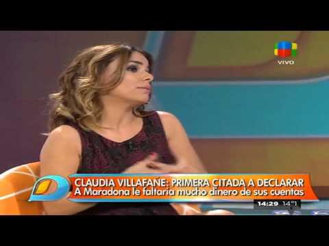 A Maradona le faltarían 80 millones y su ex mujer fue citada a declarar