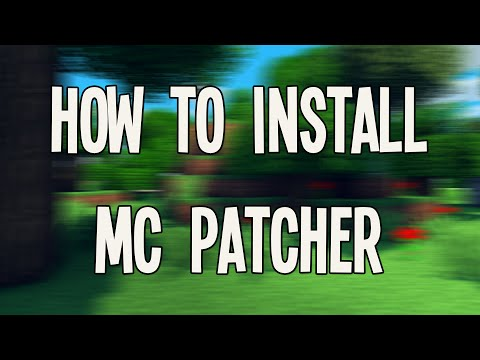 How To Install Minecraft MC Patcher [1.8.9] [1.8]