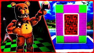 Minecraft FNAF - How to Make a Portal to FIVE NIGHTS AT FREDDY'S