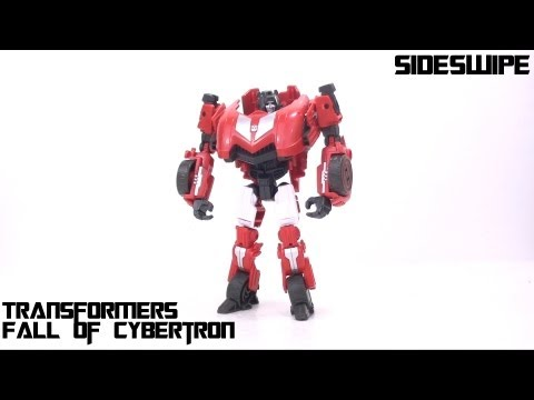 Video Review of the Transformers Fall of Cybertron: Sideswipe