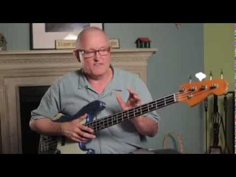 Bass Guitar Lessons With Steve Bryant - Introduction To Theory video