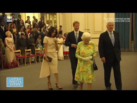 Meghan Markle continua a rubare la scena a Kate Middleton - La vita in diretta estate 27/06/2018