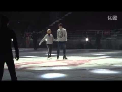 Artistry on Ice 2014 - Johnny Weir, rehearsal, Beijing