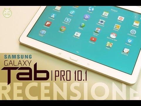 Samsung Galaxy Tab PRO 10.1. recensione in italiano