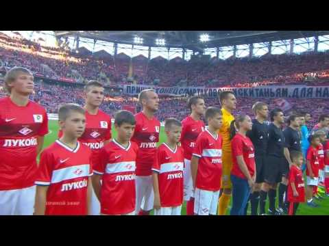 Валерий Кипелов исполняет гимн «Спартака»