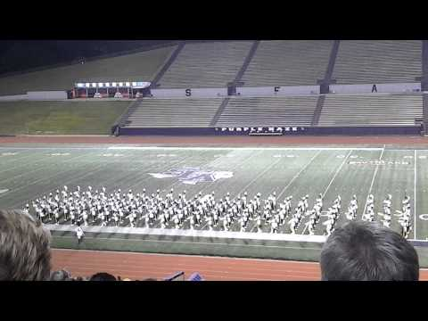 Nacogdoches High School Band 2014 Marching Contest