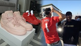 VERY RARE UNRELEASED JORDANS !! + COURTSIDE CAVS GAME VLOG!!!
