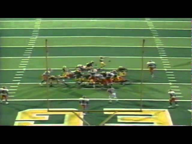 Oregon RB Ricky Whittle 24 yard touchdown run vs. Illinois 9-09-1995