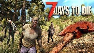 ZOMBIE APOCALYPSE!! (7 Days to Die)