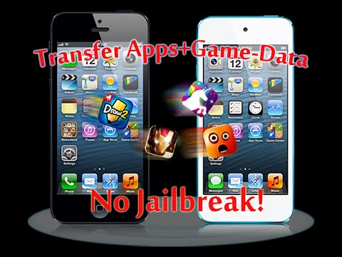 HowTo: Transfer (Hacked) Apps & Game-Data to Non-Jailbroken Devices