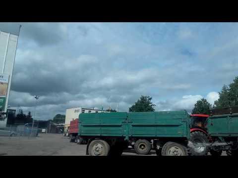 Хлеборобы продают зерно. Литва 2017.08.13