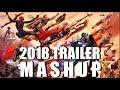 2018 Movie trailers MASHUP