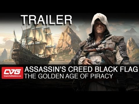 Assassin's Creed 4 Black Flag NEW TRAILER - The Golden Age of Piracy