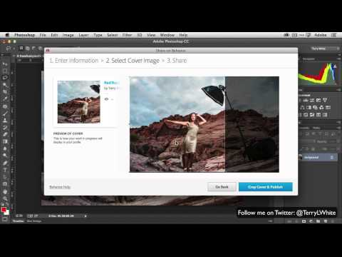 QuickTip - How To Publish to Behance Directly from Photoshop CC