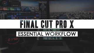 FCPX: HOW TO START EVERY EDIT - KEEP MUSIC IN SYNC