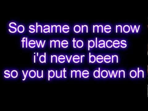 Taylor Swift - I Knew You Were Trouble Lyrics video
