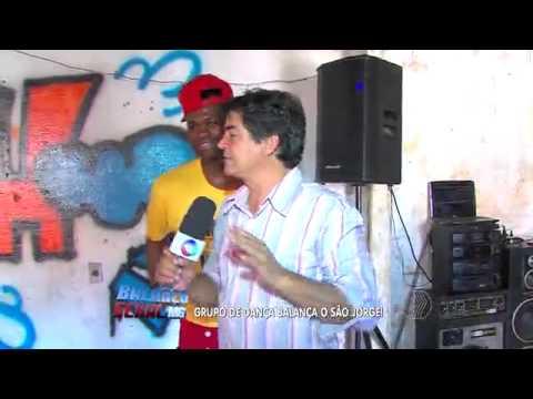 Grupo de dança Manos do HipHop no Balanço Geral Chama o Lourival