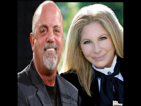 Barbra Streisand with Billy Joel