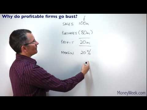Why do profitable firms go bust? - MoneyWeek Investment Tutorials