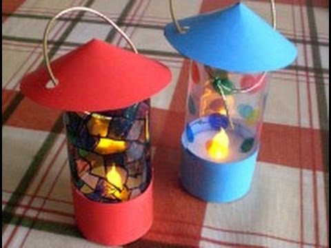 How To Make A Lantern From An LED Tealight YouTube
