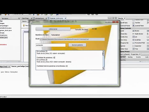 Manejo de Archivos txt en java netbeans HD
