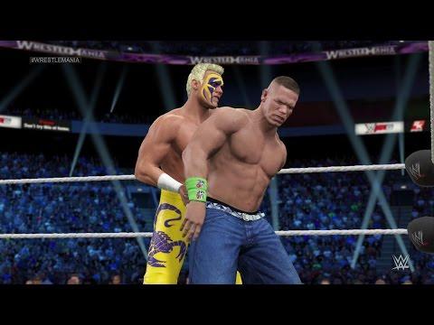 Wwe 2k15 Fantasy Showdown: Sting Vs. John Cena - Next Gen video