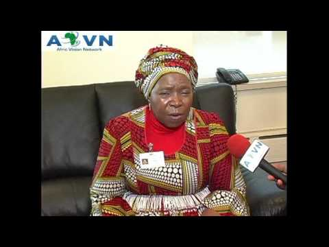 Inteeview With H.E. Dr. Nkosazana Dlamini Zuma President of African Union www.avntv.net