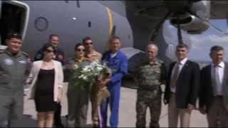 Airbus A400M Visit to Turkish Airforce (HD)