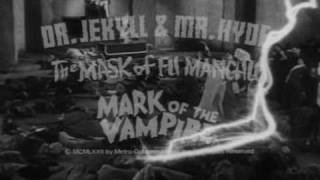 Triple Horror Trailer (1940's)