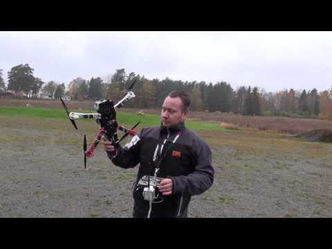 TBS Discovery build EP23 TBS DJI Naza Compass calibration - 20121020