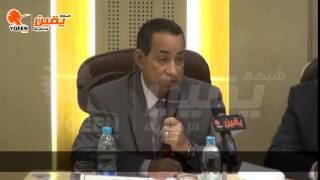 يقين | كلمة سمير كامل عميد كلية تجارة بجامعة الاسكندرية بلقاءه مع وزير التموين