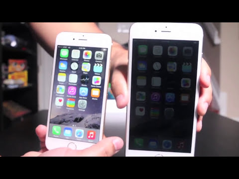 [UNBOXING] iPhone 6 VS. iPhone 6 Plus